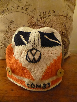 **P & P FREE**  VW Combi Tea Cosy - hand knitted - IDEAL GIFT FOR VW ENTHUSIAST