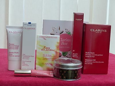 CLARINS BOX PARTY TIME Limited Edition Lovely Valentine's Gift Free Delivery