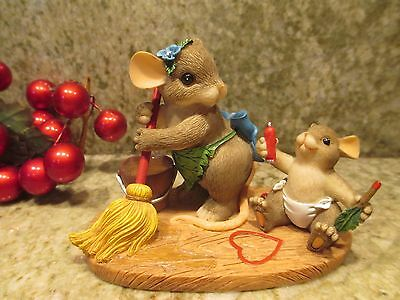 Fitz & Floyd Charming Tails You Can't Wash Away My Love  Figurine #89/275