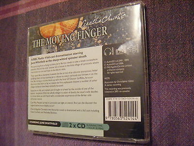 The Moving Finger by Agatha Christie(CD-Audio, 2006)[BBC FULL CAST DRAMAISTATION