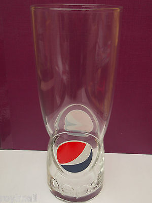 New Style Pepsi colour logo approx. 3/4 pint glass