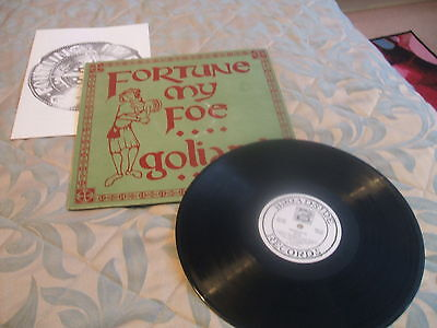 Goliard, Fortune My Foe, Broadside Records with booklet