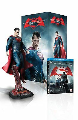 NEW Batman v Superman: Dawn of Justice  Superman Statue Ultimate Edition limited