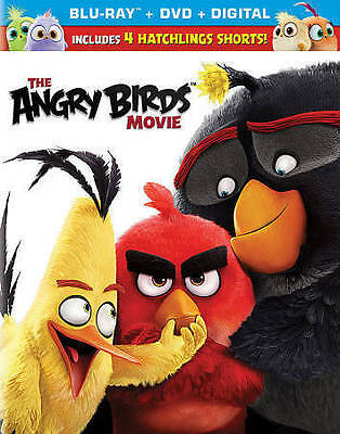 The Angry Birds Movie (Blu-ray ONLY, 2016)
