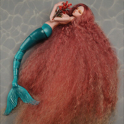 Dollmore (7-8) Stardust Mermaid Wig (Red)
