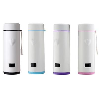 Temperature Touch Sensing Water Bottle Vacuum Insulated Tea Cup Mug Tumbler