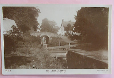 RP Postcard c.1920 THE LOCKS ALTERYN MONMOUTHSHIRE WALES