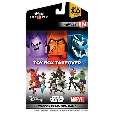 New Factory Sealed Disney Infinity 3.0 Edition: Toy Box Takeover Expansion Game