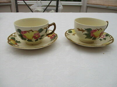 johnson brothers peachbroom  2 cups and saucers