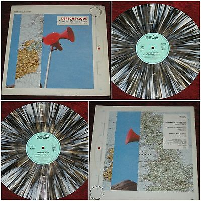 "DEPECHE MODE '12 mix  ""Never let me down again"" (Tsangarides mizx) - grey vinyl"