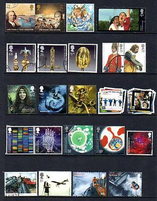 GB very recent high value commemoratives, 23 different off-paper.