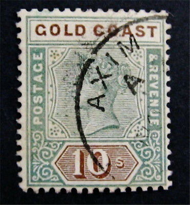 nystamps British Gold Coast Stamp # 35 Rare Used $65