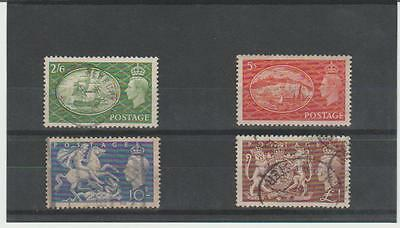 1951 George V1 Victory Set Of High Values