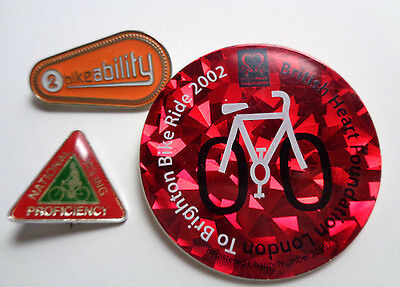 Bike -Cycling Related  Lapel Badges