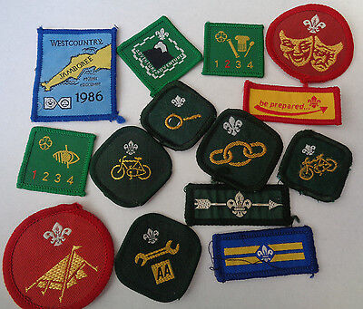 Collection Cloth Patches Scouts