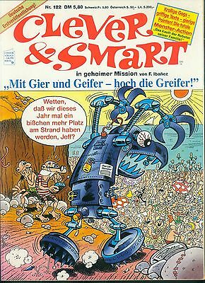 Clever & Smart Nr.122 von 1993 - TOP CONDOR ORIGINAL ERSTAUFLAGE COMIC F.Ibanez