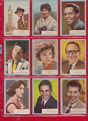 WHO-Z-AT-STAR FULL SET OF 70 A&BC GUM  Cards