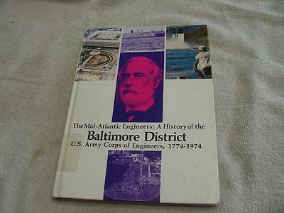 History of Baltimore district corps of engineers 1774-1974