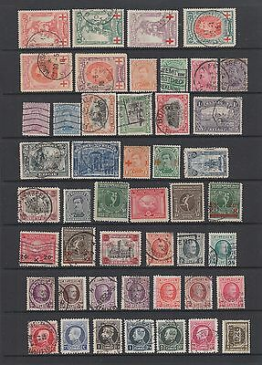 Belgium early collection , 86 stamps