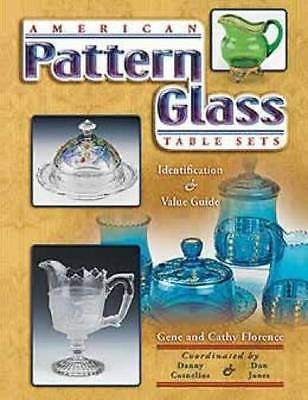 ON SALE! American Pattern Glass Table Sets ID$ Book US Fostoria