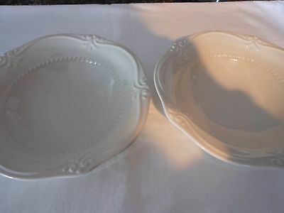 Southern Living Gallery Collection White Set Of 2 Bowls