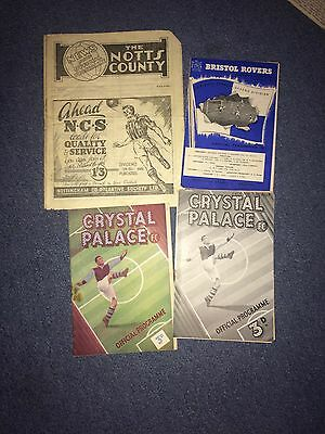 crystal palace v nottingham forest  1949-50