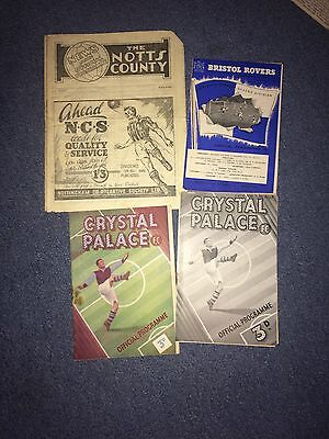 notts county v bristol city 1946-7