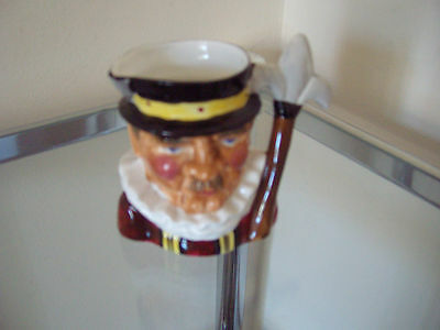 Beefeater Toby Jug - Thornley Bone China - Nice Little Collectable Ornament