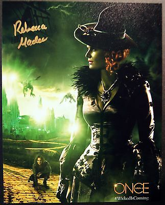 Autogramm 20x25cm REBECCA MADER (Once Upon A Time, Lost) *handsigniert* COA