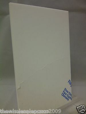 Cast Perspex White 069 Gloss Surface Acrylic Sheet 3Mm A4 Ideal For Photography