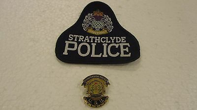Strathclyde Police Underwater Search Unit Badge & Patch  Police Scotland