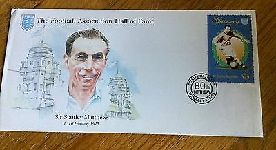 Sir Stanley Matthews First Day Cover