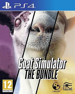 Goat Simulator The Bundle Ps4 Game New And Sealed