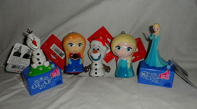 Lot Of Disney Frozen Hallmark Ornaments And Two Frozen Talking Candy Dispensers