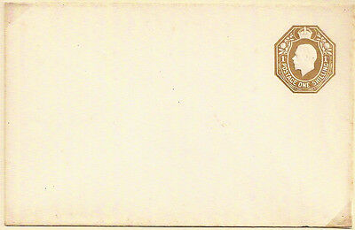 1913 King George V 1'- One Shilling Stamped To Order Sto Envelope Unused - Rare