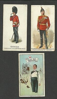 2 Original Old Gallahers, South African Series, Issued 1901 & Phillips First Aid
