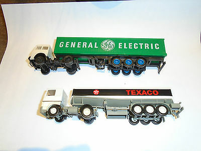 Ho 1/87Th Scale Herpa Kibri Style 2 X Articulated Trucks Renault And Fiat Types