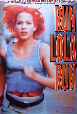 Run Lola Run Original D/s 1 Sheet Poster (1998)