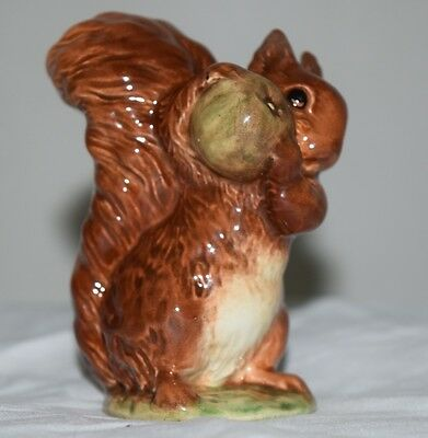Beatrix Potters Squirrel Nutkin Gold Parallel Lines Bp1b Beswick