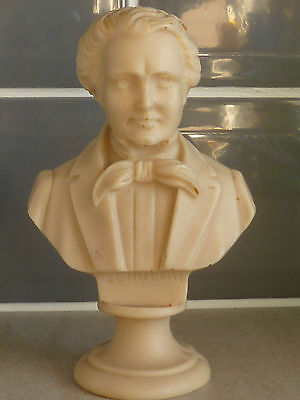 Resin bust of Shubert. Hand finished. Made in Italy...
