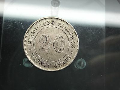 20 Cents Kwangtung China