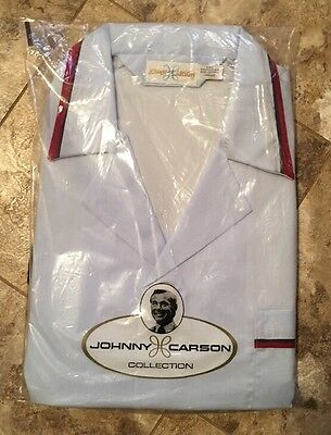 Vintage Johnny Carson Collection Pajama Set in Original Package NOS Large USA