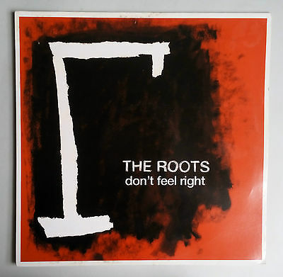 """The Roots - Don't Feel Right - Vinyl 12"""" UK 2006"""