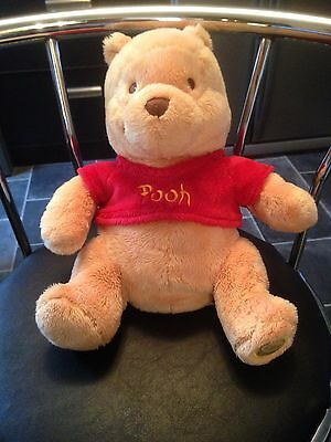 Authentic Genuine Disney Store Winnie The Pooh Plush / Soft Toy Approx 10 inches