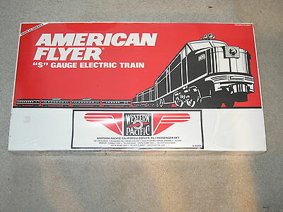American Flyer 6-49604 Western Pacific California Zephyr Pa-1 Passenger Set New