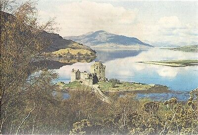 Superb Old Postcard -  Eilean Donan Castle - Loch Duich - Ross-Shire C.1965