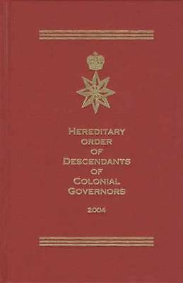 Genealogy Descendant Colonial Governors Lineage Records