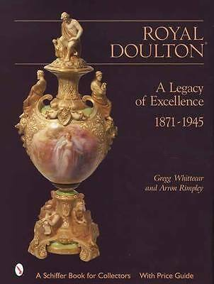 Royal Doulton / Burslem 1871-Up Faience Art Pottery Collector Guide History Ref