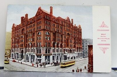 Minnesota MN Minneapolis West Hotel Postcard Old Vintage Card View Standard Post