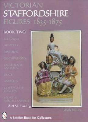 c1800s Antique English Victorian Staffordshire Figures Collector Guide Vol 2